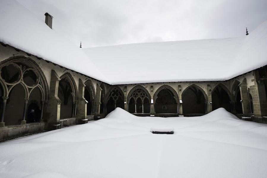 Abondance, Haute-Savoie, Alpes, hiver, vacherin, abbaye