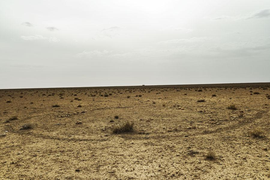 désert, campement, Hauts plateaux, Maroc Oriental
