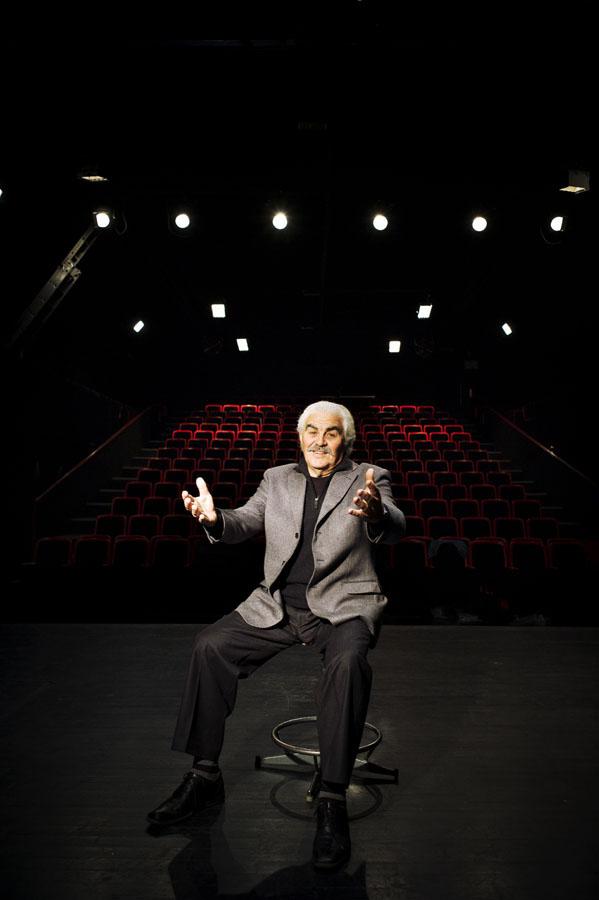 Serge Papagalli, alias Aimé Mudru paysan dauphinois - Théatre 145