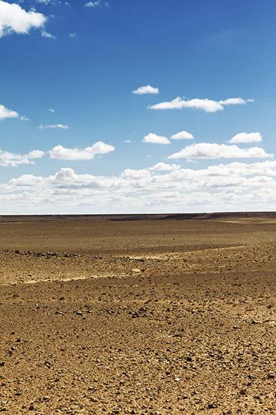 Désert, Hauts plateaux, Maroc Oriental