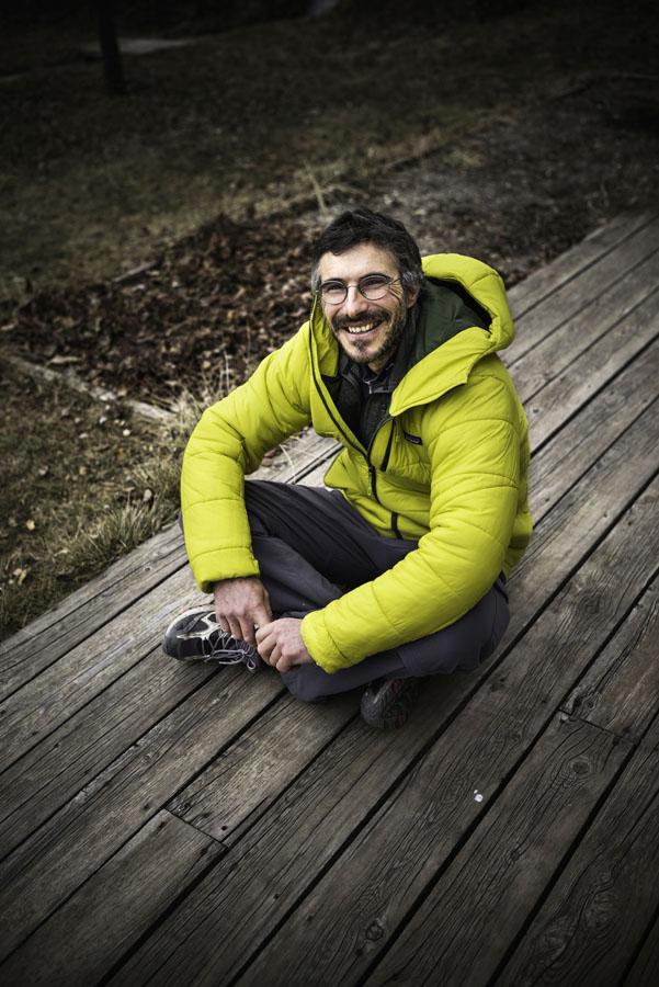 France, Hautes-Alpes (05), L'Argentière-la-Bessée, Lionel Daudet, alpiniste, écrivain // France, Hautes Alpes, L'Argentiere la Bessee, Lionel Daudet, alpinist and writer
