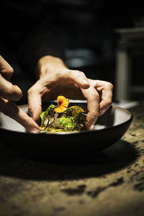 Charmes-sur-Rhône, restaurant gastronomique Le Carré d'Aléthius *, Olivier Samin