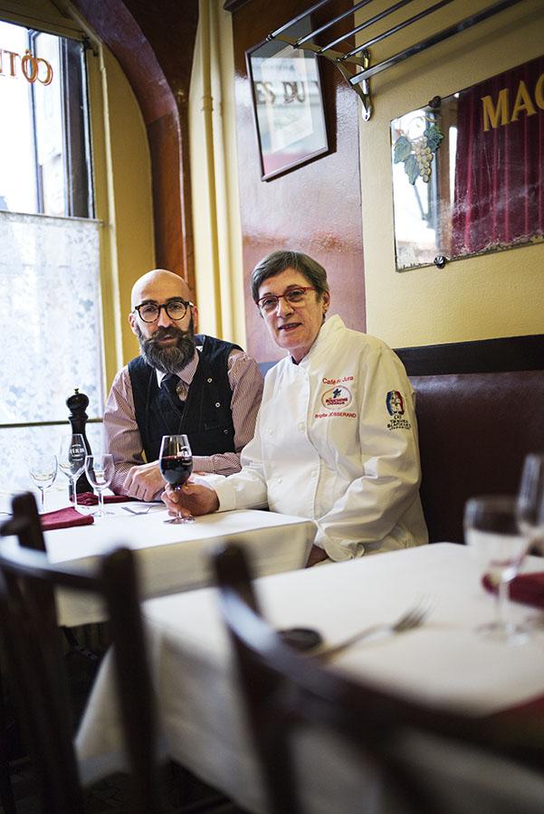 Café du Jura, Brigitte et Benoit Josserand, Lyon - 2018