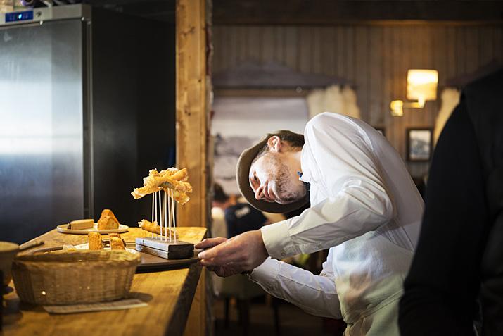 Tignes, restaurant d'altitude le Panoramic (3032m)