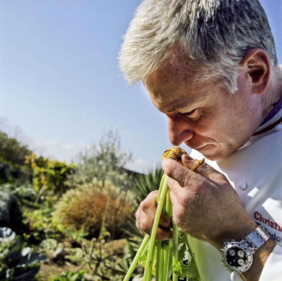 chef, gastronomie, Lyon, jardin, légume