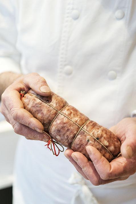 Sabodet, saucisson à cuire lyonnais, charcuterie Reynon, Lyon