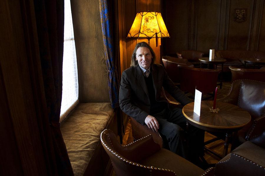 Petite Scheidegg - l'hotel Bellevue des Alpes - Mr Andreas von Almen, propriétaire