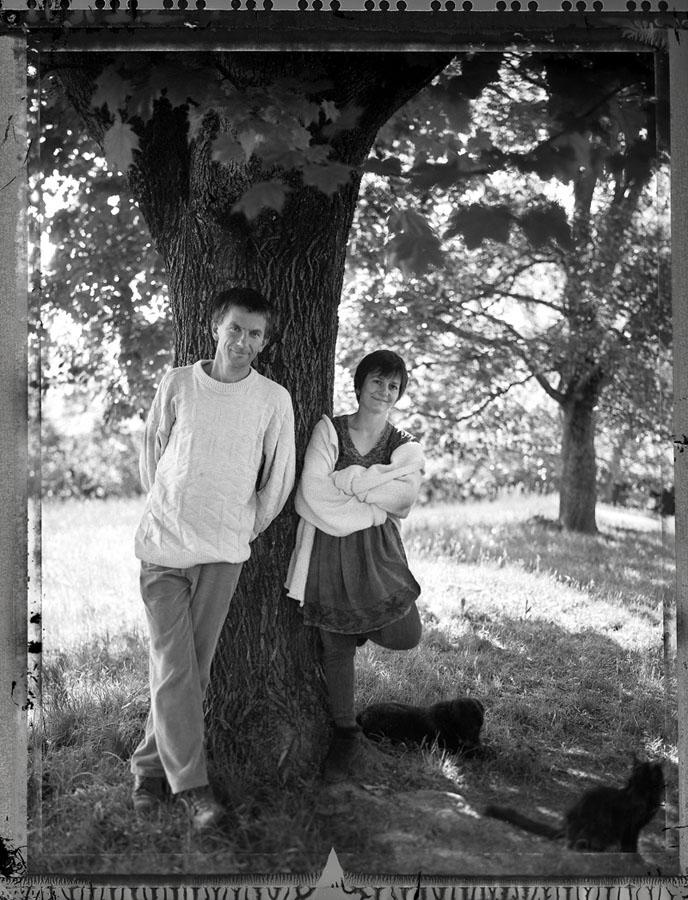 Claude DIDIER et Anne PARLANGE, anciens membre de VIVRE EN TRIÈVES, dans l'équipe du journal locale et pendant logntemps au carrefour de multiples assoc'.