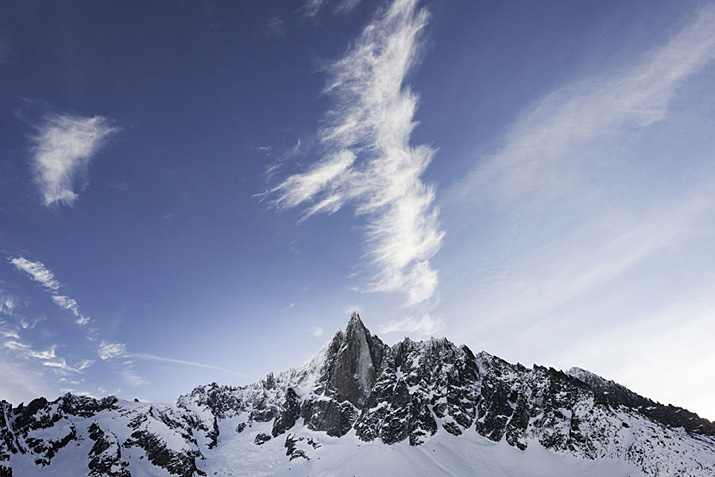 France, Chamonix, les Drus