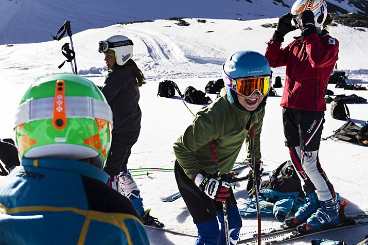 France, Val d'Isère, ski d'été