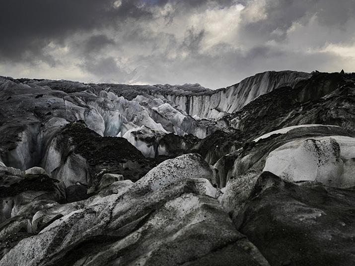 Suisse, Valais, le glacier d'Aletsch