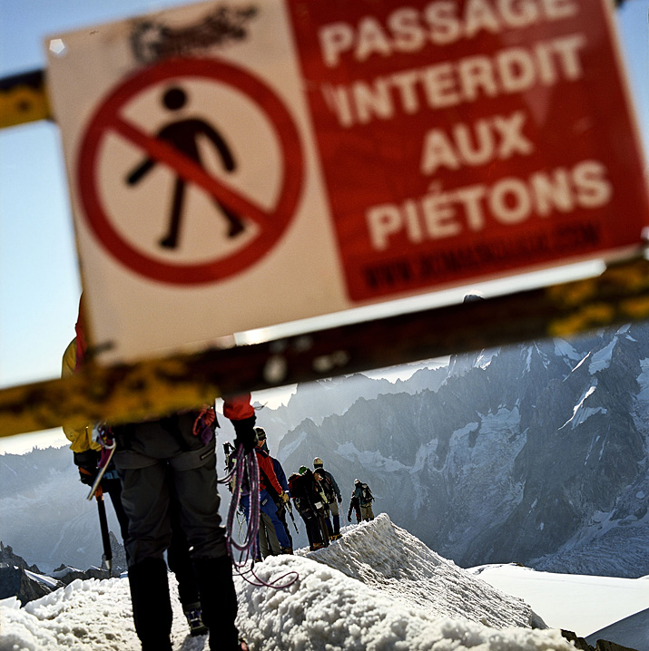 Chamonix, Aiguille du Midi,