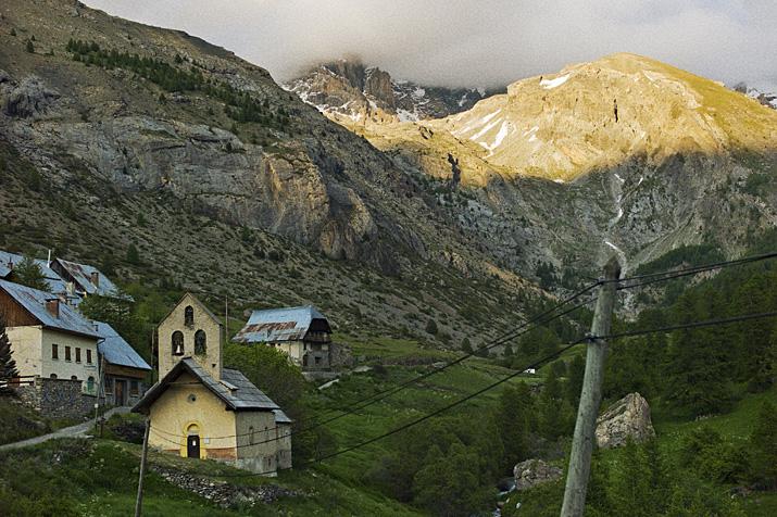 France, Alpes de Haute Provence, haute vallée de l'Ubaye