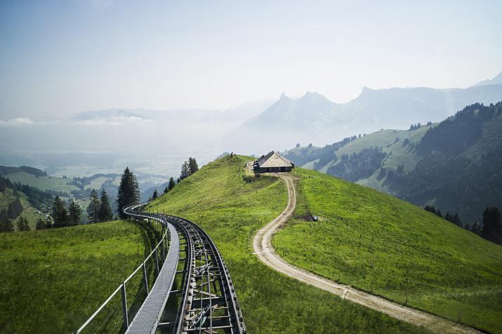 Suisse, canton de Fribourg, Gruyère, Le Moléson