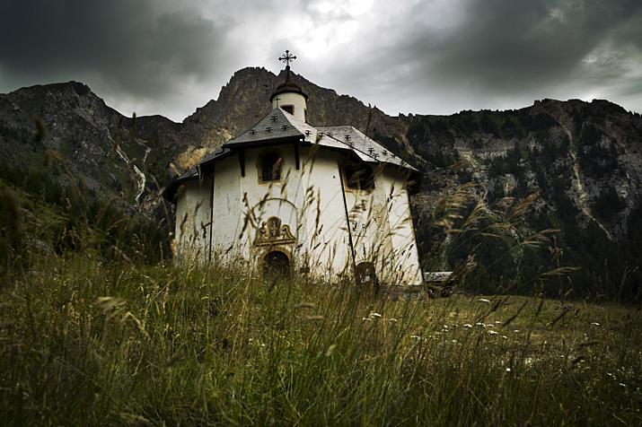 France, Savoie, Peisey-Nancroix, sanctuaire Notre Dame des Vernettes