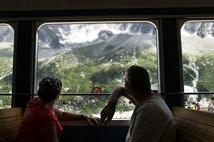 Chamonix, train du Montenvers