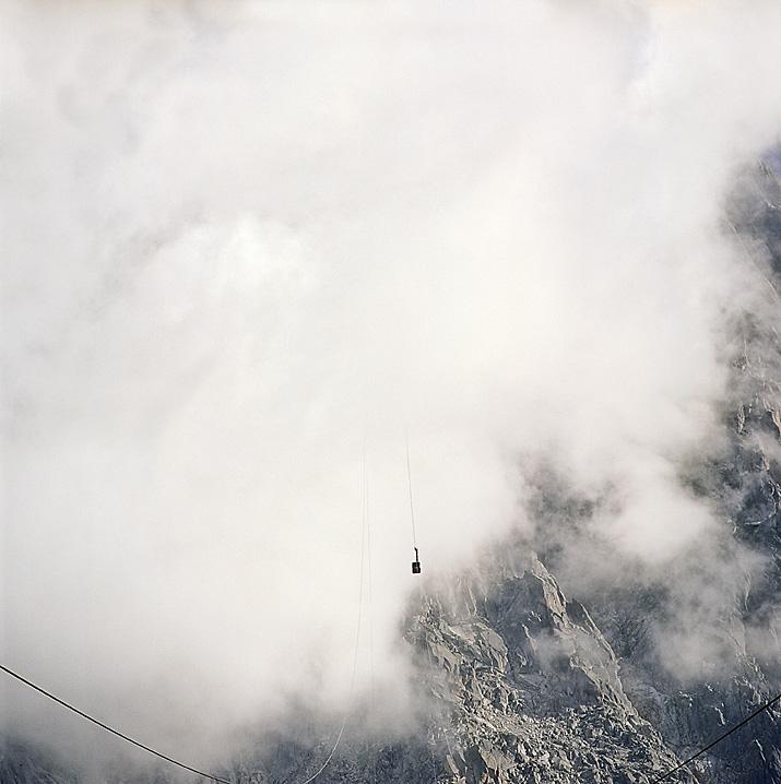 France, Chamonix, Aiguille du Midi