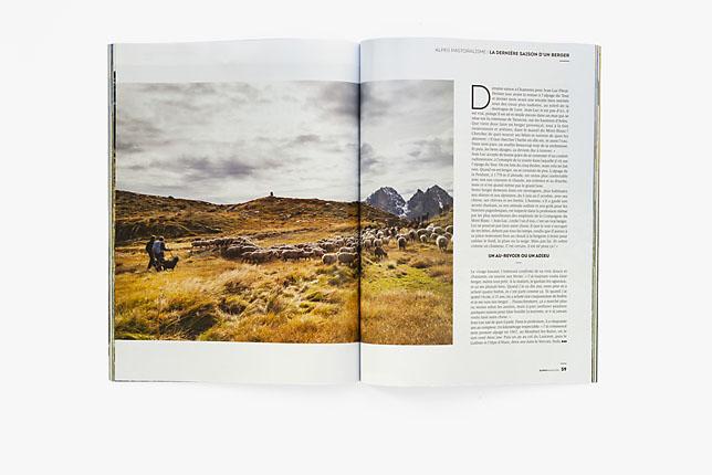 Alpes Magazine n°173, oct. nov. 2018 - prod' sur 9 pages