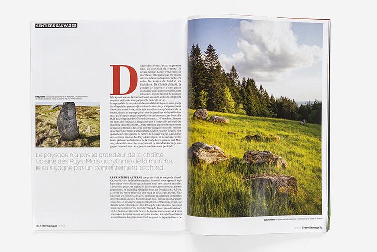 Terre Sauvage n°369 - sentiers Livradois-Forez