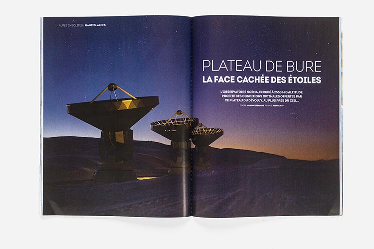 Alpes Magazine n°180 - observatoire du Pic de Bure